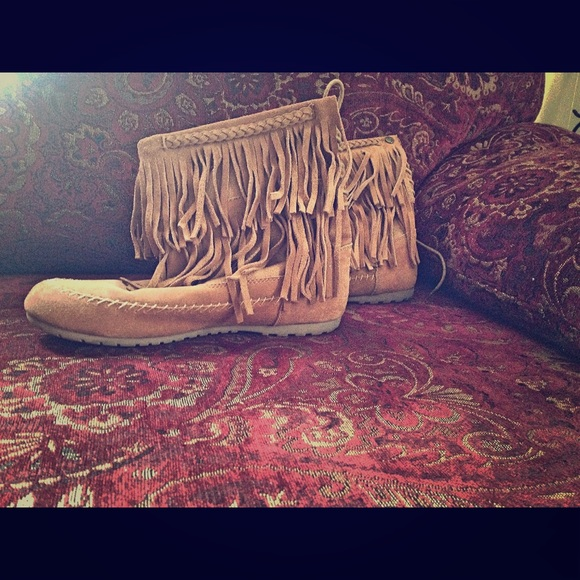 55% off Makalu California Boots - Makalu California Fringe Boots ...
