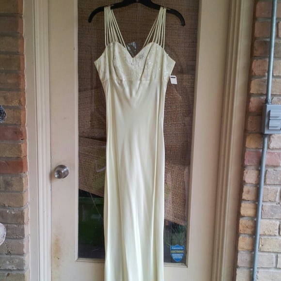 All That Jazz Dresses & Skirts - FLASH SALE! NWT Beautiful Muted Lime Green Gown