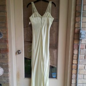 All That Jazz Dresses - FLASH SALE! NWT Beautiful Muted Lime Green Gown
