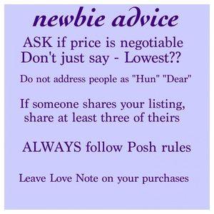 Other - Newbie Advice