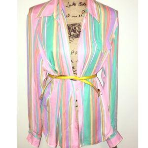 Ralph Lauren Tops - Brand new Ralph Lauren 100 silk blouse size 16