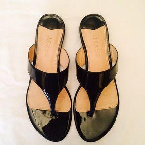 💕HOST PICK! •• J. Crew Patent Leather Sandals