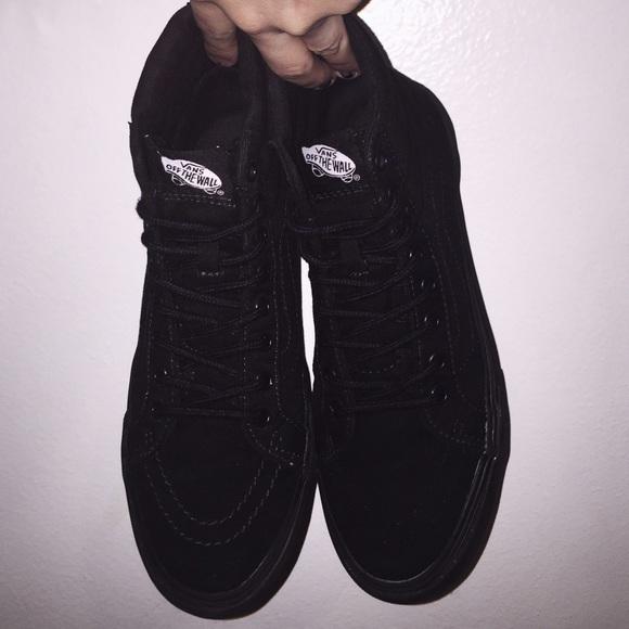 Giày Vans Sk8-Hi Triple Black - VN000TS9BJ4