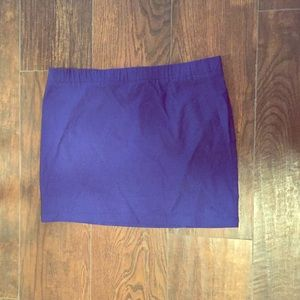 Sold in Bundle!--Express Royal Blue Mini Skirt
