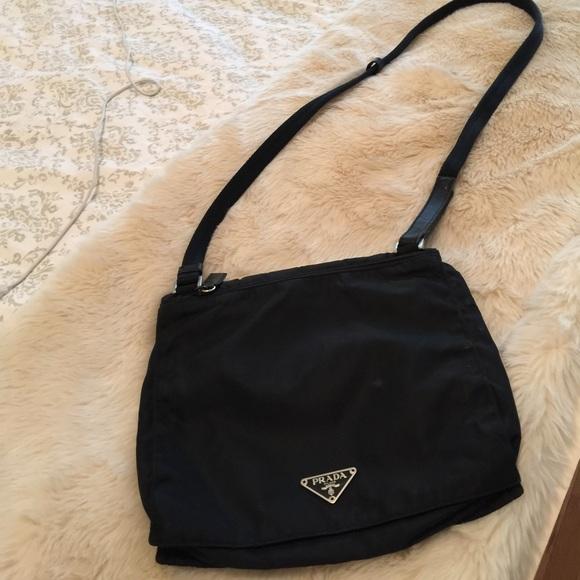 0df2ed9ec4420f Prada Bags | Authentic Messenger Bag Black Vintage | Poshmark