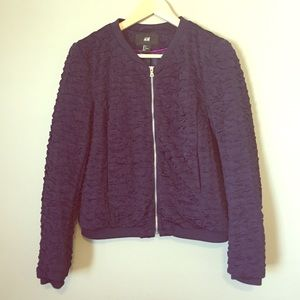 H&M Shirred Jacket
