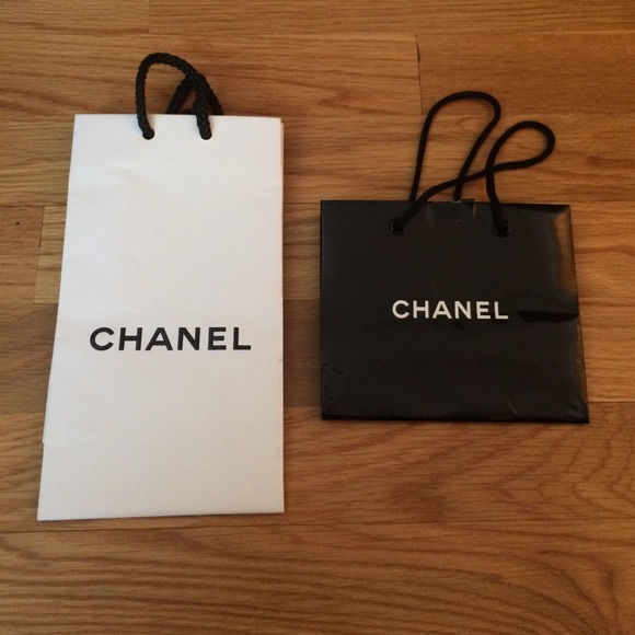 CHANEL - 2 Chanel paper shopping bags from Chanel's closet on Poshmark