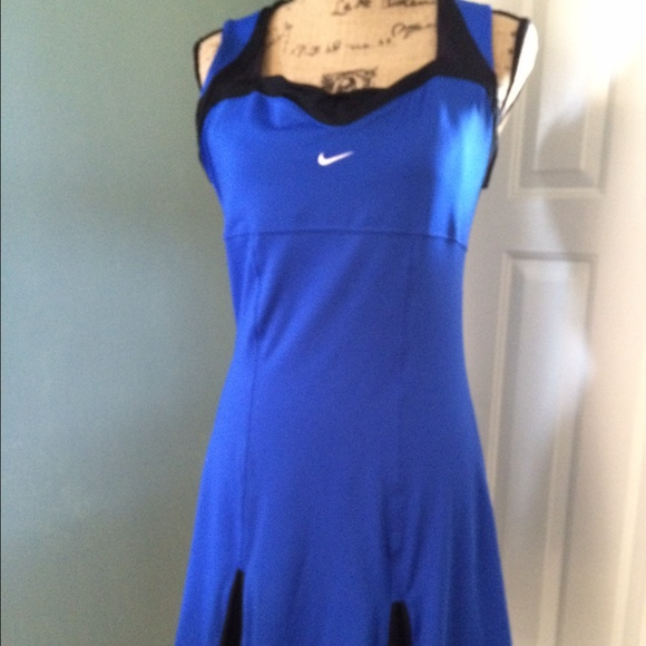 nike blue tennis dress