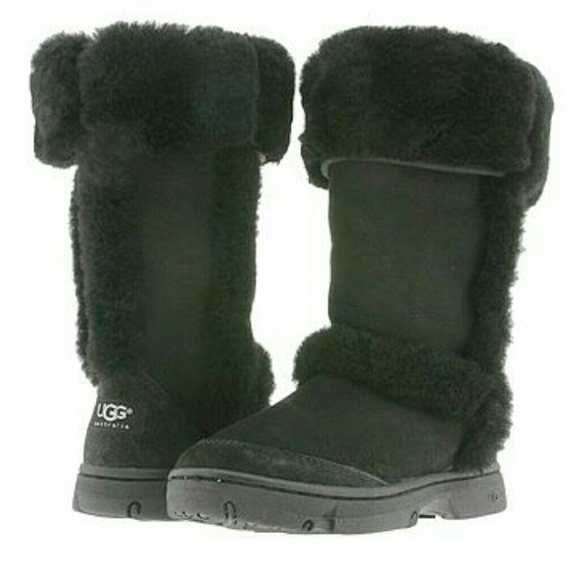black sunburst uggs