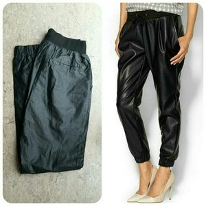 Piperlime Pants - HP | Faux Leather Black Pants | Piperlime
