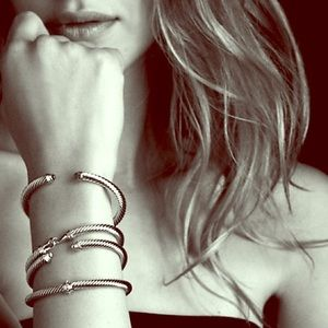 David Yurman Jewelry - Pearl David Yurman Cable Classics Bracelet
