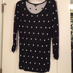 Cute Polka Dot Sweater - Size L