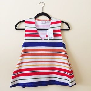NWT Anthropologie Striped Top
