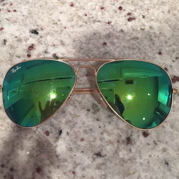 94fb9c657ed Green Reflective Ray Bans « Heritage Malta