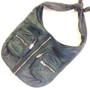 Alexander Wang Handbags - Alexander Wang Donna Hobo Green