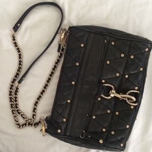Rebecca Minkoff Studded Black MAC Crossbody Bag