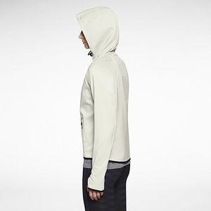 f3a04c35b6aa Nike Jackets   Coats - NIKE Hypertech White Zip Training Hoodie Storm Fit