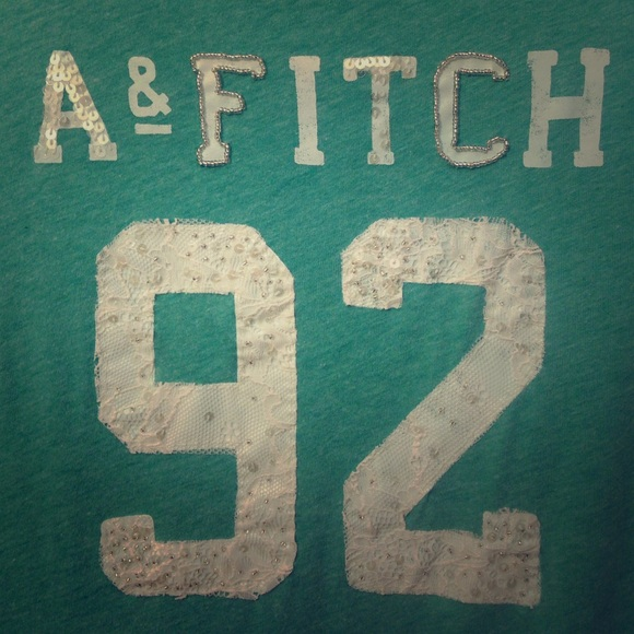 Abercrombie Fitch Tops Girly Af Logo Short Sleeve Tee Poshmark