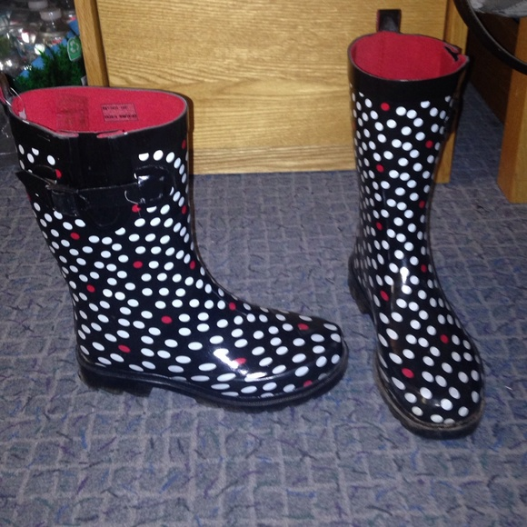 40% off capelli Shoes - Capelli polka dot rain boots from ...