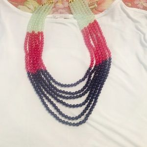 Towne & Reese Jewelry - Multi-layer, colorful necklace