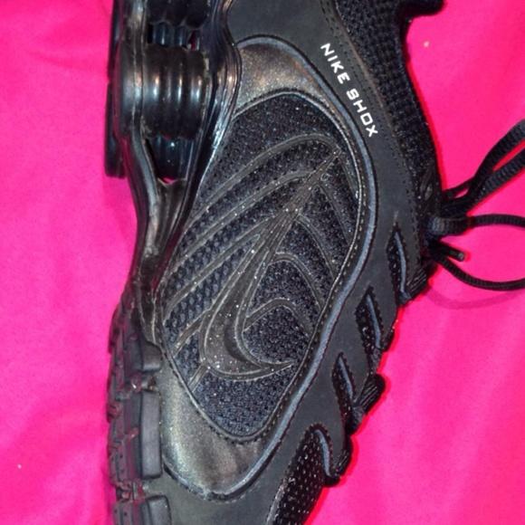... Nike Shoes - Black   Glitter Nike Shox ... 4ab5fb27d