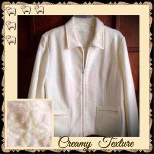 NEW LISTING❤️COLDWATER CREEK IVORY JACKET
