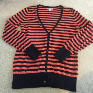 Old Navy striped Cardigan Sweater size small