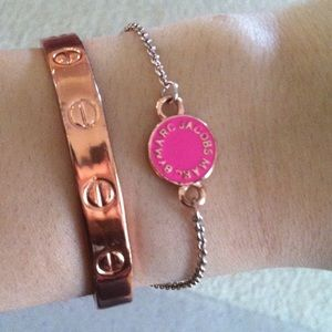Rose gold and pink Marc by Marc Jacobs Bracelet