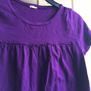 J. Crew Tops - J. Crew Purple Top T-shirt