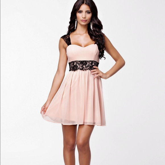 36% off Ruiyige Dresses & Skirts - Ruiyige🍭pink dress w black ...