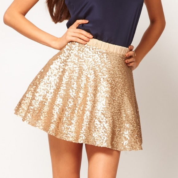 84% off ASOS Dresses & Skirts - ➡️SOLD⬅ ASOS Gold Sequin Prom ...