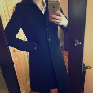 Jcrew thinsulate wool coat
