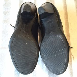 1c9bfd3f76 American Eagle by Payless Shoes | Black Oxford Heels | Poshmark
