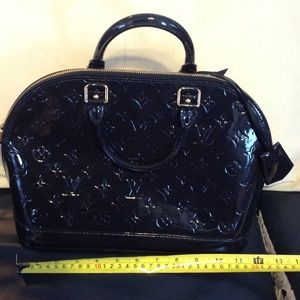 LV LIMITED EDITION VERNIS BAG