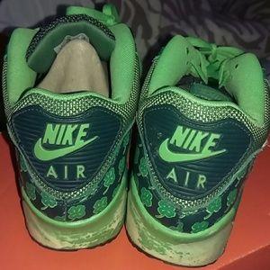72e5fe768b Nike Shoes | St Pattys Day Air Max 90 Qs | Poshmark