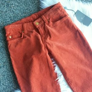7 for all Mankind Pants - Orange 7FAM Cords