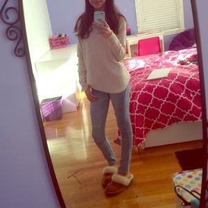 Cream colored sweater