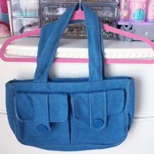 Rare! Abercrombie & Fitch Pea Coat purse bag tote
