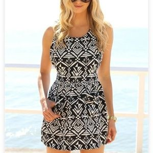 sabo skirt tribal dress