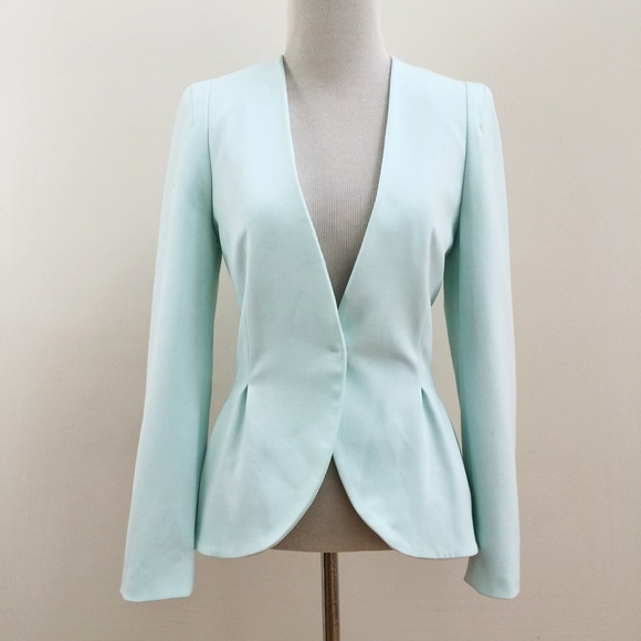 light pink blazer h&m