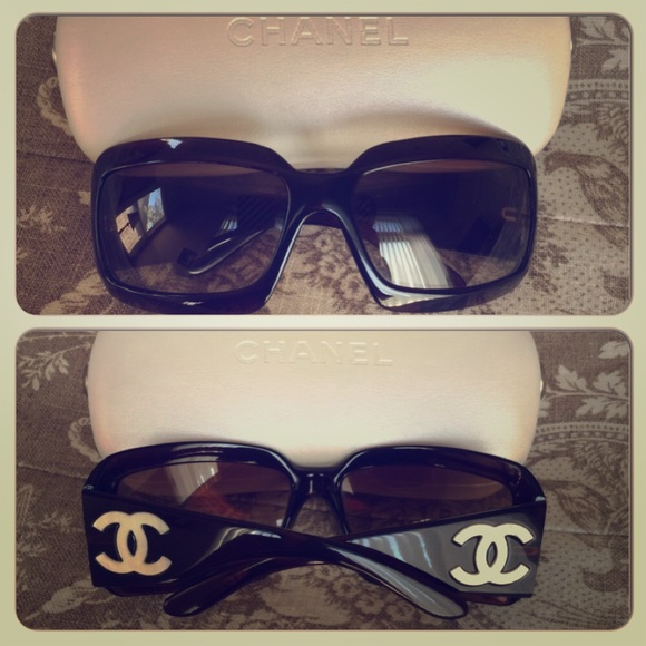 56162b66c34 CHANEL Accessories - 💝Chanel 5076-H Mother of Pearl Sunglasses