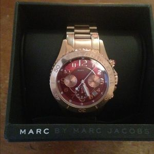 Marc by Marc Jacobs Jewelry - Rose gold Marc Jacobs watch