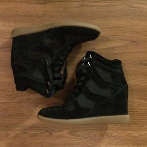 Sam Edelman wedge sneakers size 8.5