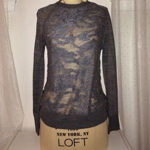 LOFT Sweaters - Gray loft sweater