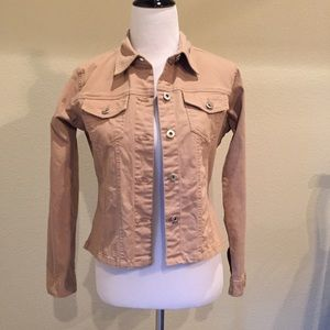 Jackets & Blazers - Khaki Jacket