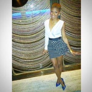 Self Portrait Dresses & Skirts - One sleeve bow dress