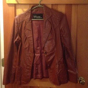85% off Wilsons Leather Jackets &amp Blazers - Authentic Wilsons