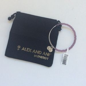 alex and ani shimmering bead bracelet