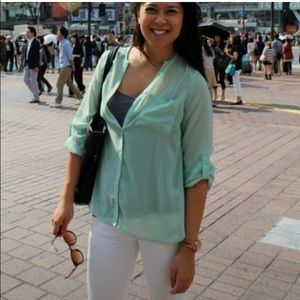 Necessary Clothing Tops - 🌻Necessary Clothing Turquoise Top