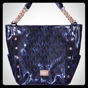 Sale⭐️Michael⭐️Kors black Mirror Metallic Bag